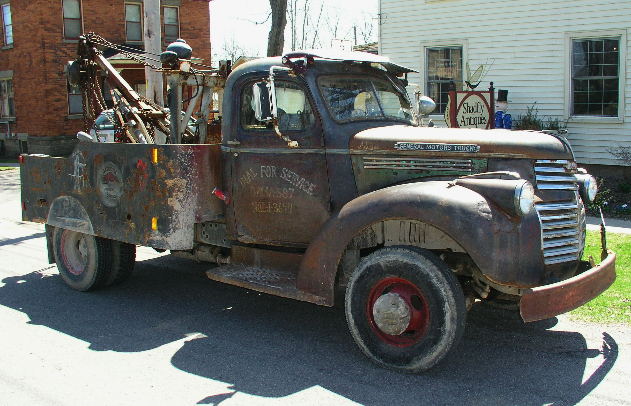 Tod And His 1941 One Ton Tow Truck Shadflyguy