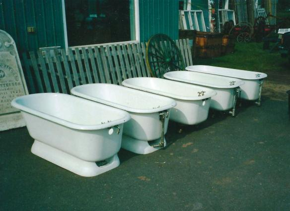 anyone for a bathtub?