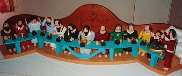 last supper, by Leo Fournier