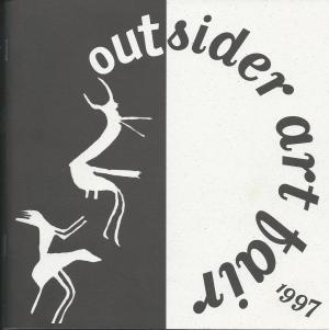 catalogue cover for the 1997 Outsider Art fair