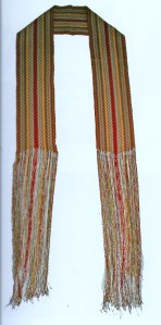 lot# 101 selling price $13,500 Ceinture Fleche, Quebec, c1800