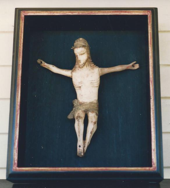 one of 12 Quebec crucifix  by an unknown carver,circa 1900