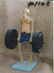 muscleman by Leo Fournier
